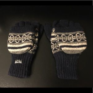 Navy Blue Thinsulate Insulation Gloves/Mittens